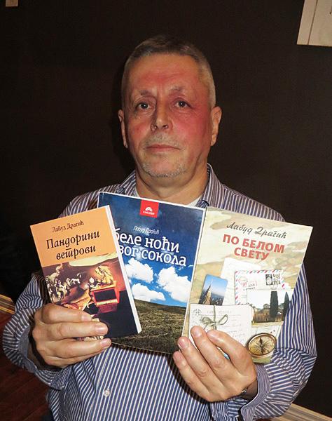 Labud Dragic. Serbian author visiting Toronto. Image Copyright ©2016 Ruth Lor Malloy