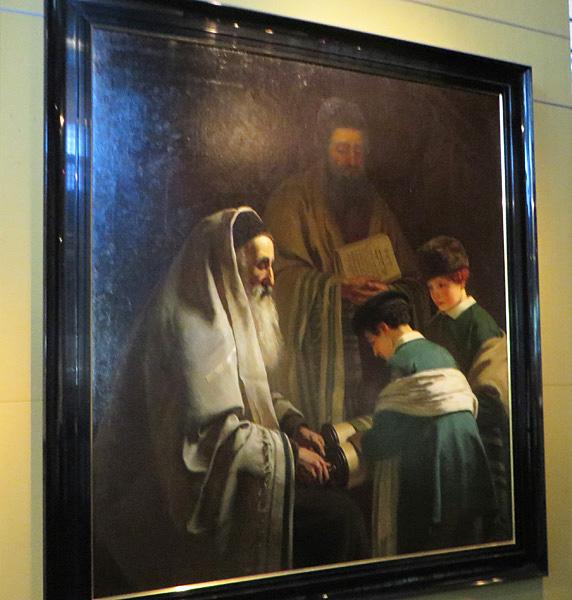 Painting in Joods Historisch Museum, Amsterdam, Netherlands.