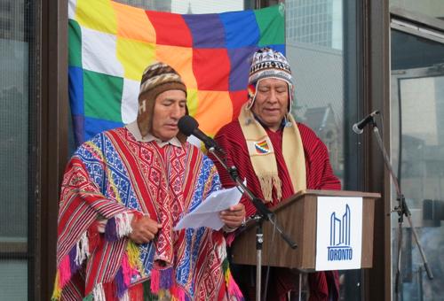 Jesus Leon (Quechua Peru) & Marco Guzman (Aymara First Nation)