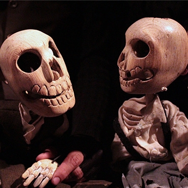Colectivo Cuerda Floja puppets. Image from Harbourfront Centre website.