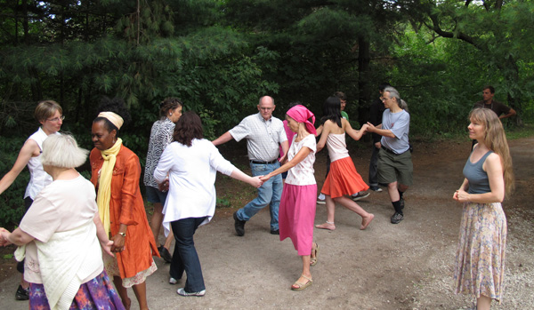 English Country Dance. High Park. Image Copyright ©2016 Ruth Lor Malloy