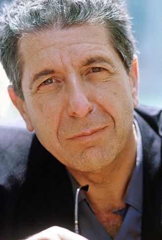 Image Leonard Cohen from Wikipedia.