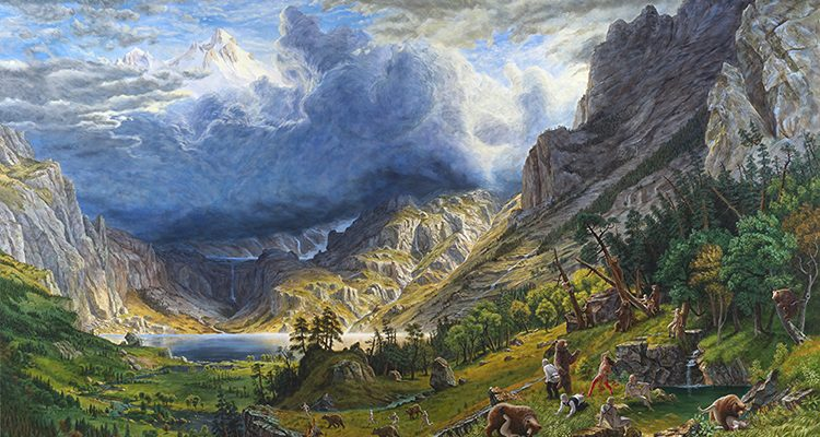 720. Jan. 26-Mar. 4. Kent Monkman Art Exhibition – 2017