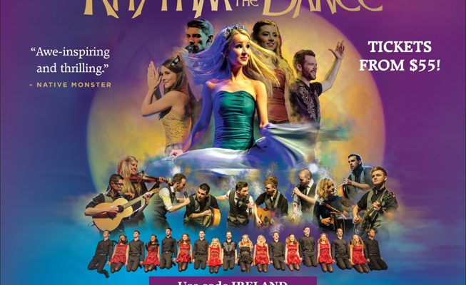 734. Winner of Free Tickets to Ireland's Rhythm of the Dance – March 17, 2017
