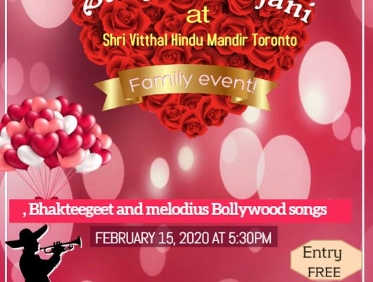 899. Affordable Events February 12 – 29 in Multicultural Toronto – 2020.